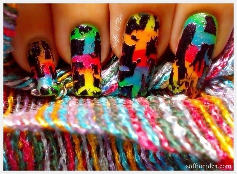 """Nail Art """"Graffiti"""""""