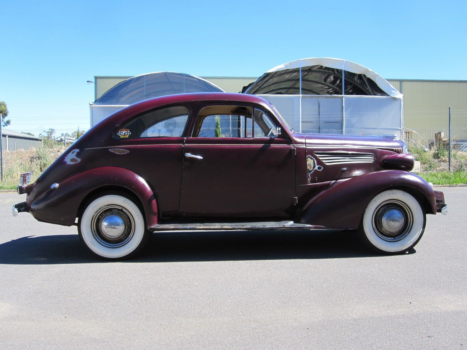 1937 Holden Bodied Chevrolet Sloper Sports Coupe Australian Made