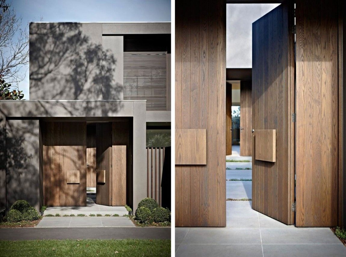 Contemporary Two-Story Residence in Melbourne | Bauernhaus, Moderne ...