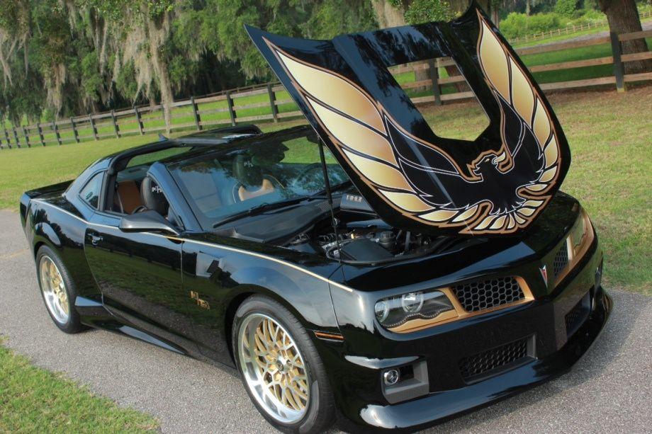 New Chevy Camaro conversion to Pontiac Firebird Trans Am Awesome