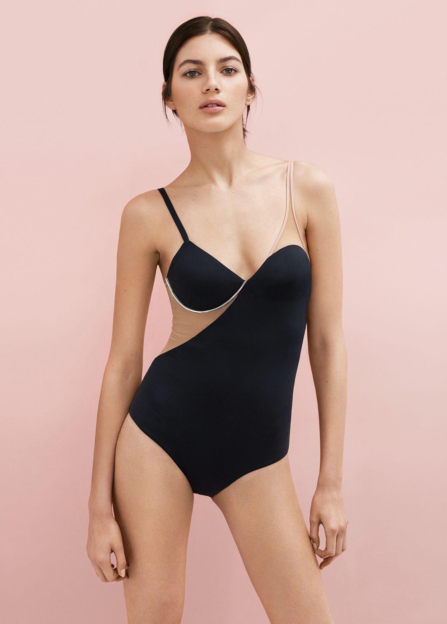 Valery kaufman wears the La Perla Wired swimsuit  4f13a1f03885