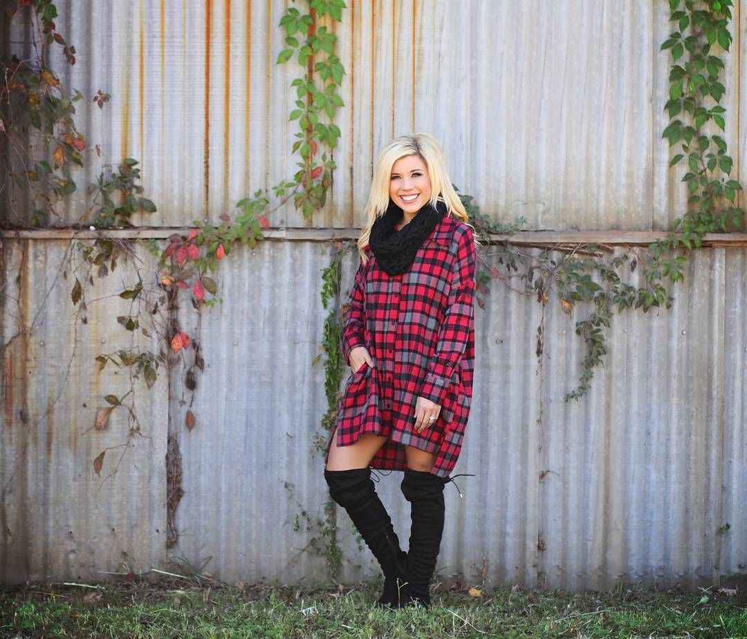 No boyfriend to steal oversized flannels from?! Don't you worry about a thing... we got you covered!