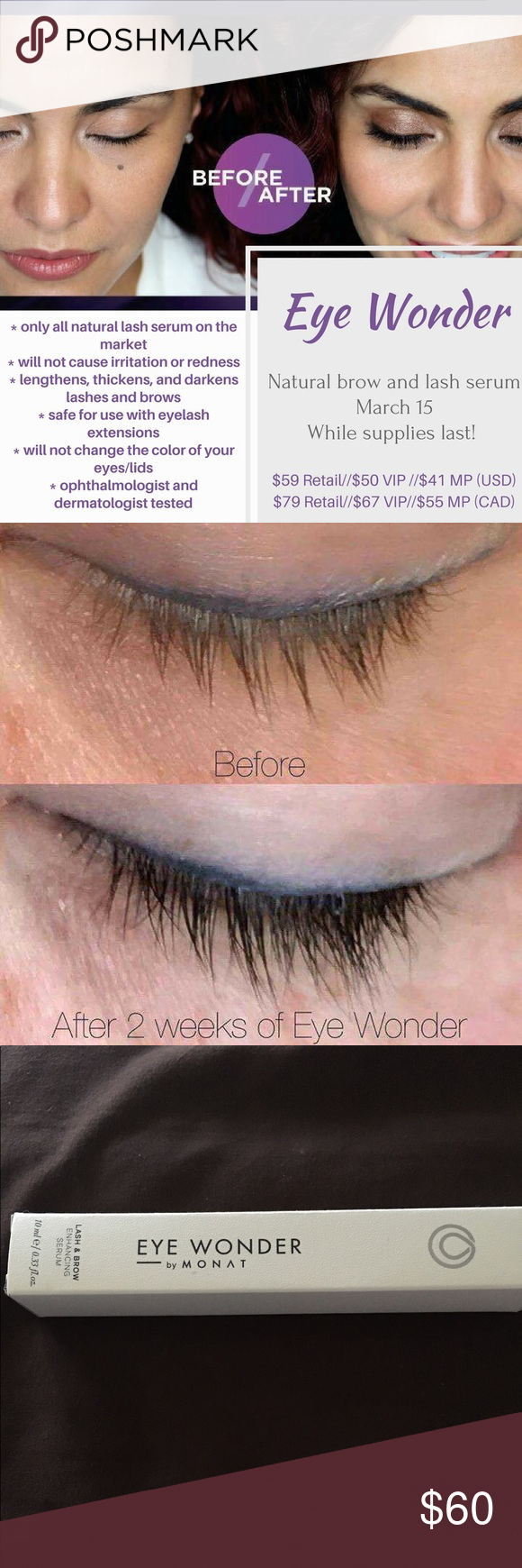 3999474a279 MONAT EYE WONDER BENEFITS Eye Wonder is a high-performance serum formulated  with clinically proven