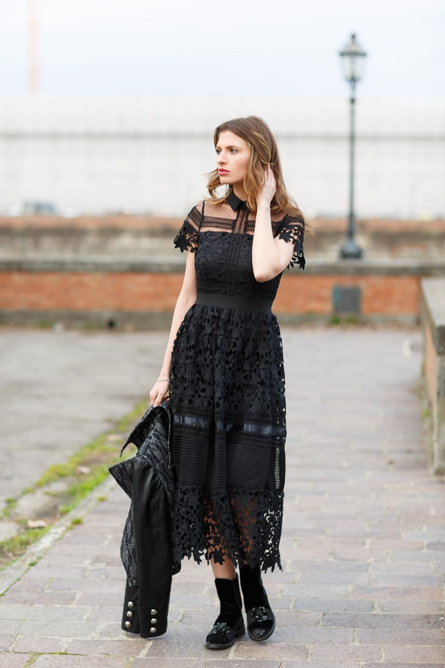 black dress E tu? Elegante o Casual? Nuovo articolo www.myrightoutfit.com