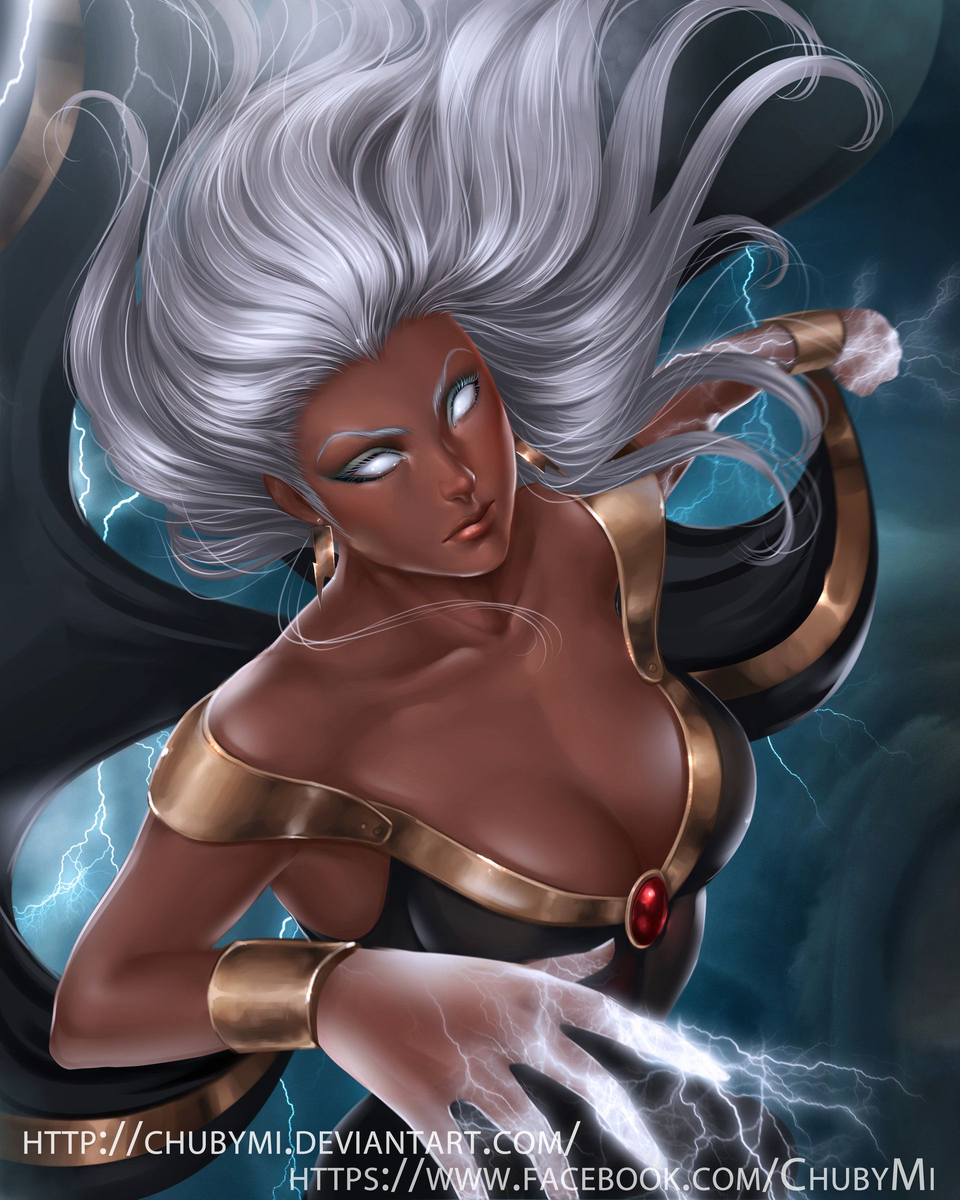 Storm And Rogue X Men Hot
