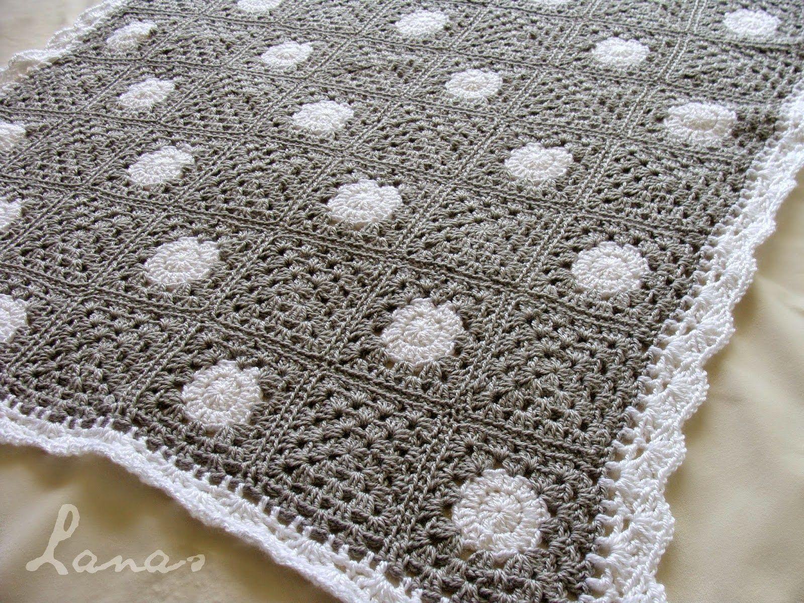Contemporáneo Los Patrones De Crochet Libre Para Mantas Ornamento ...