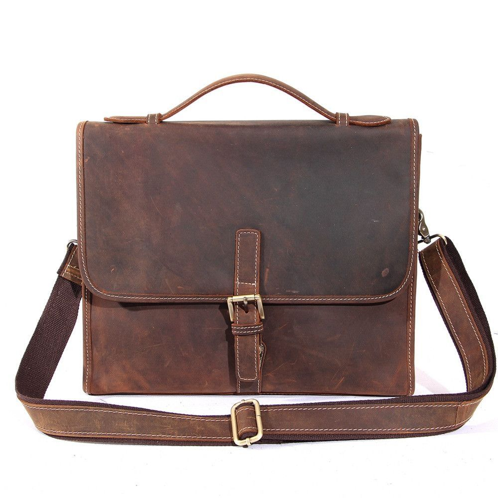 e0ba2f8da3 vintage leather briefcase 13