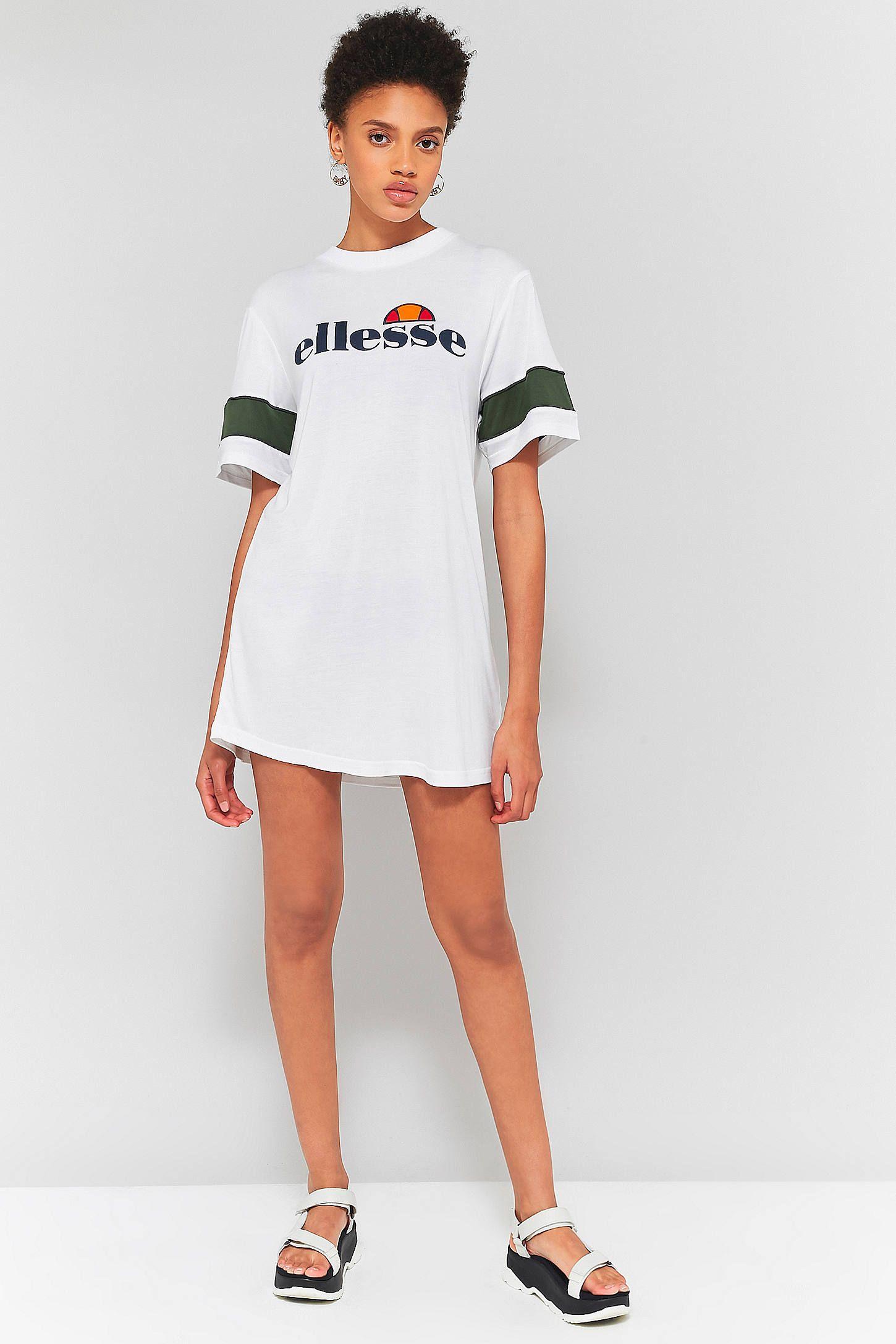 Ellesse Tifa T Shirt Dress T Shirt Dress Jumpsuit Dress Shirt Dress