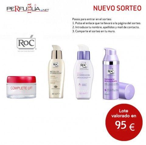 Sorteo de lote de productos Roc valorado en 95€:  https://basicfront.easypromosapp.com/p/157170?uid=626300299
