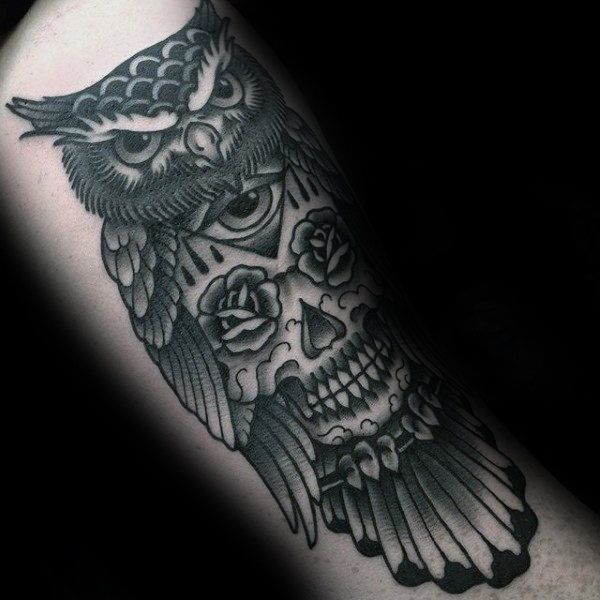 70 Traditional Owl Tattoo Designs For Men Wise Ink Ideas Traditional Tattoo Owl Tattoo Design Traditional Owl Tattoos