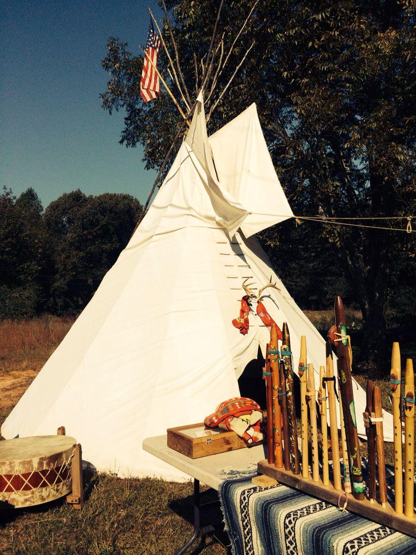 Native American teepee and handcrafts | Tallapoosa, Georgia