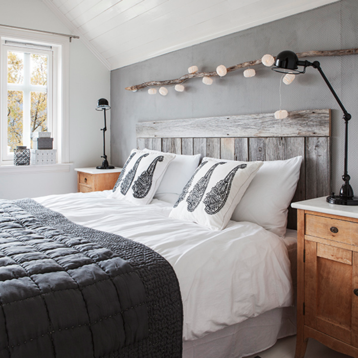 La chambre grise 40 id es pour la d co deco chambre grise chambre grise et - Deco chambre adultes ...
