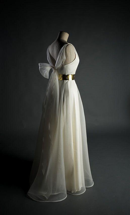 Edith Bréhat, création de robes de mariées à Paris