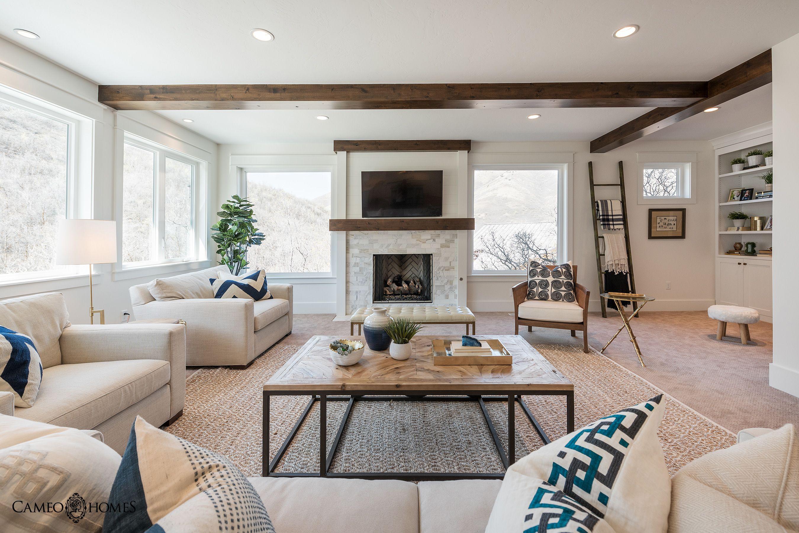 Sita Montgomery Interiors: Great Room Built By Cameo Homes Inc. In Utah. Interior