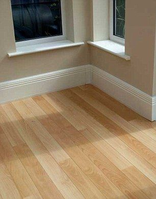 Thermodul Radiant Skirting Board Heating System 160 Per 2 5m Skirtingboardheating Co Uk Designed To Look A Baseboard Heating Heating Systems Diy Electrical