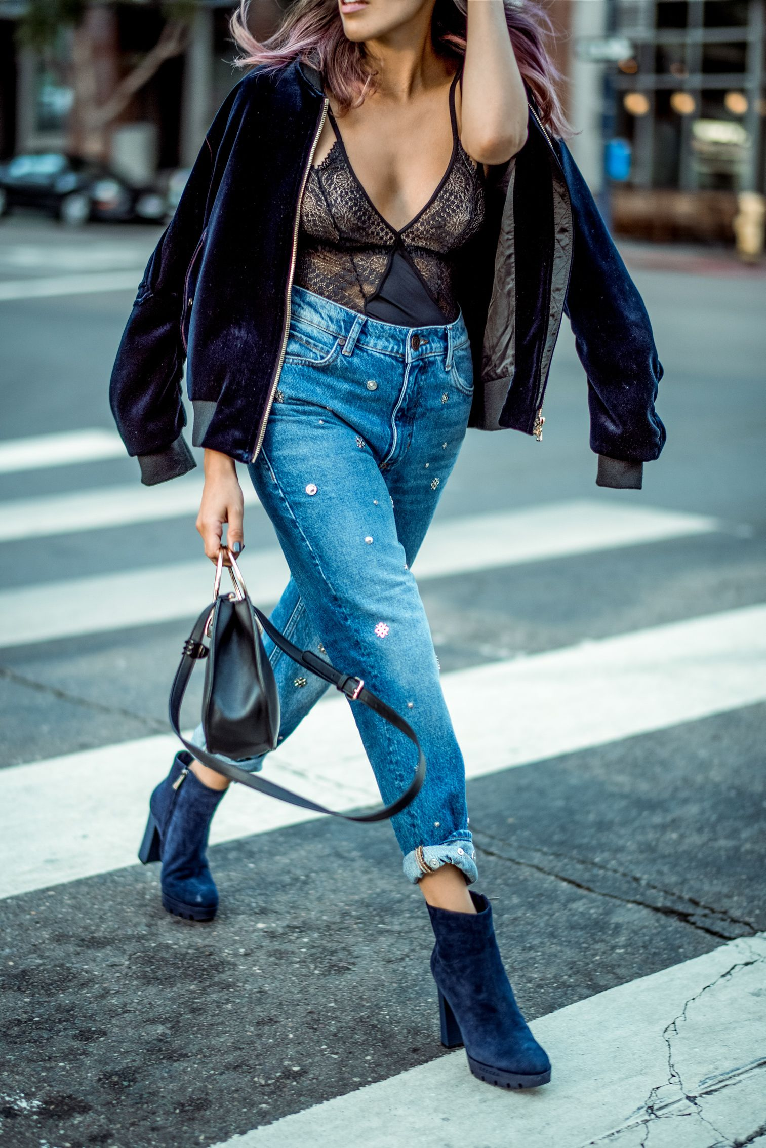 Image result for skimpy tops with boyfriend jeans