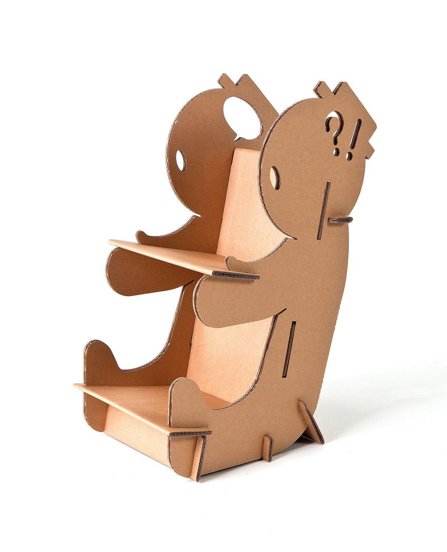 Estantes De Carton Corrugado Buscar Con Google Carton  ~ Estanterias De Carton Reciclado