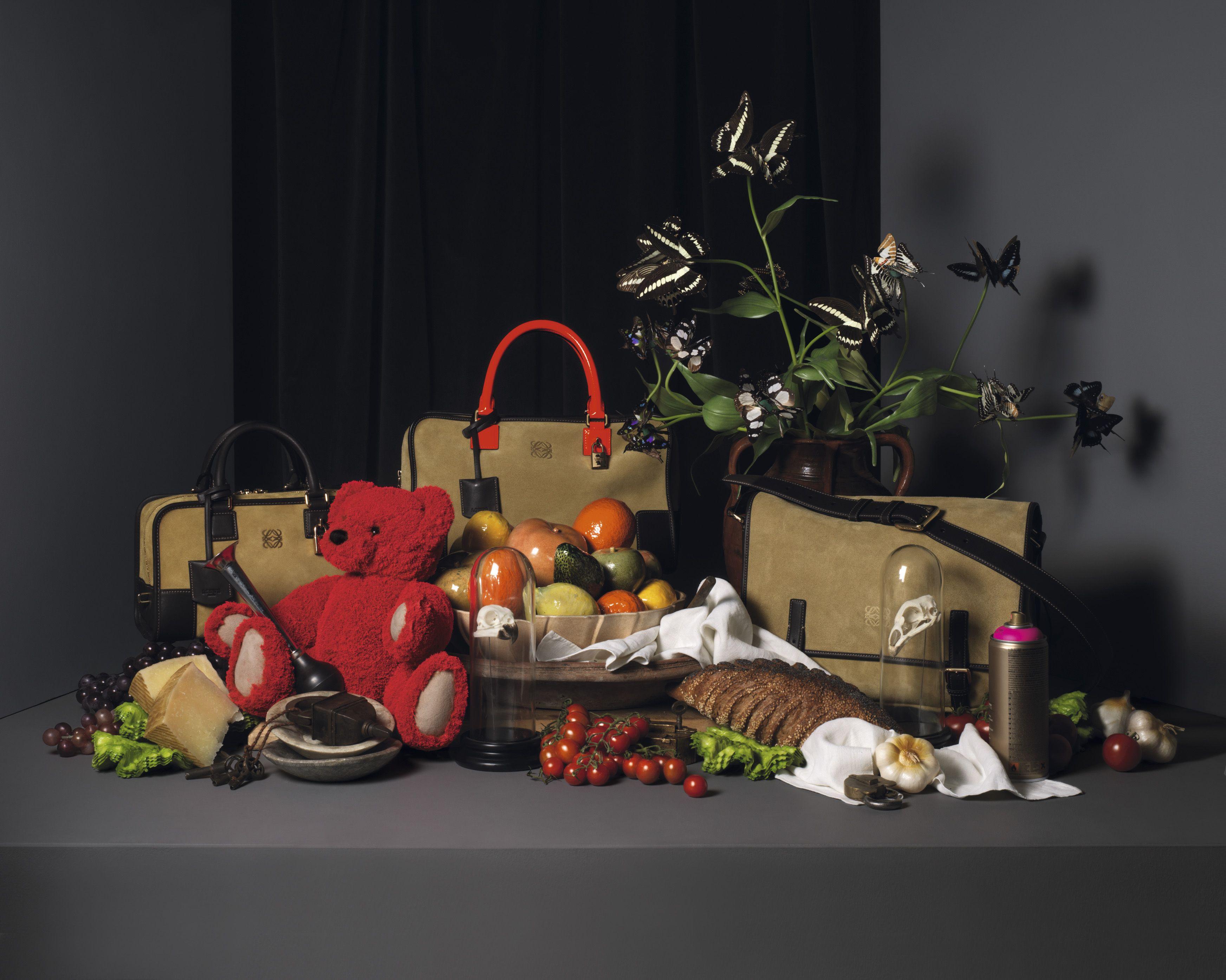 Oro Suede 'Amazona' 28 Bag.  Oro Suede 'Amazona' Bag with orange handles.  Oro Suede 'Amazona' Horizontal satchel.
