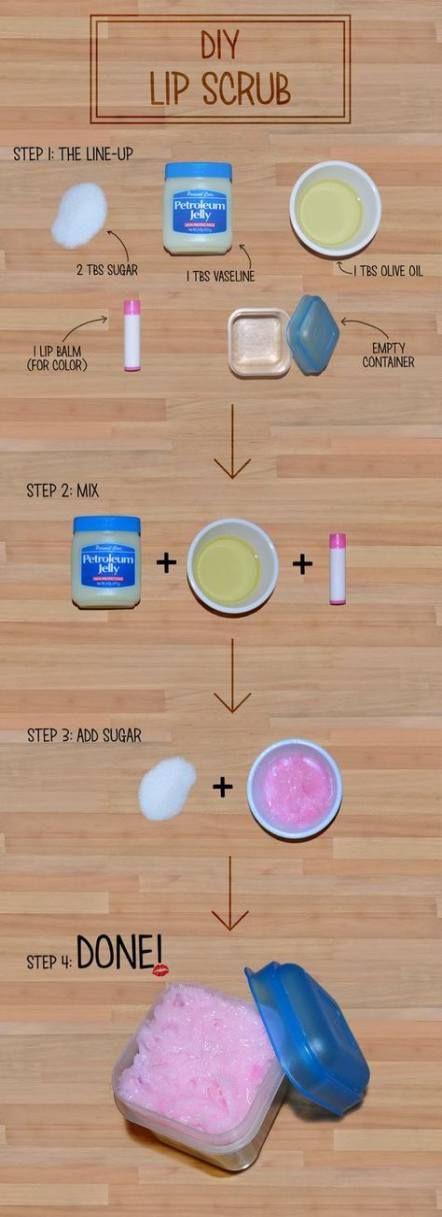 33 Trendy Ideas Diy Beauty Products To Sell Natural Lip Scrub Diy Diy Scrub Diy Lips