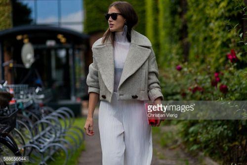 COPENHAGEN, DENMARK - AUGUST 11: Darja Barannik wearing a red JW... #maliban: COPENHAGEN, DENMARK - AUGUST 11: Darja Barannik… #maliban