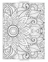 Display image coloriage fleur multiples petales mandala flower coloring pages free adult - Coloriage fleur 8 petales ...