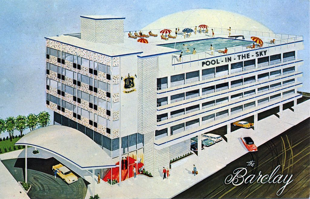 https://flic.kr/p/9ZXYou | Barclay Motel Atlantic City NJ | North Carolina Ave near Boardwalk  Atlantic City's First Roof-top Year 'Round Swimming Pool and Sun Deck