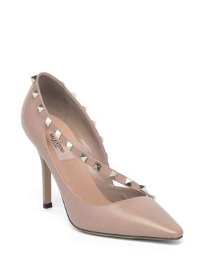 713bd1306bb VALENTINO Rockstud d Orsay Leather Point Toe Pumps.  valentino  shoes  pumps