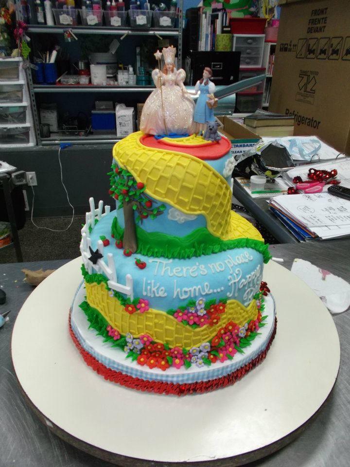 Wizard Of Oz Birthday Cake Adrienne Co Birthday Cakes