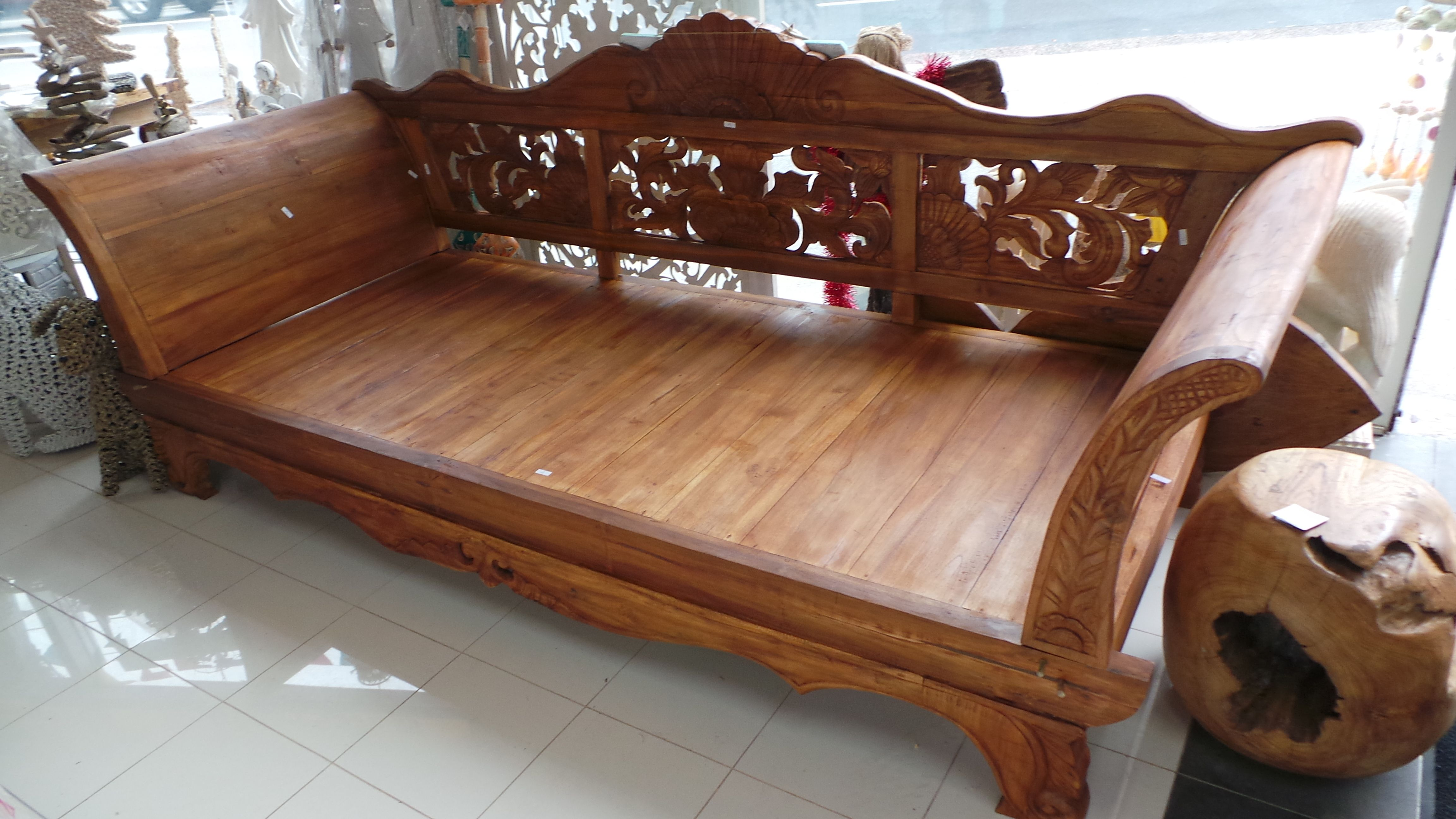 Kartini Daybeds Are One Of The Traditional Pieces Of Furniture Derived From Indonesia Used As A Lounge Both Fo Wooden Sofa Designs Wooden Bed Design Furniture