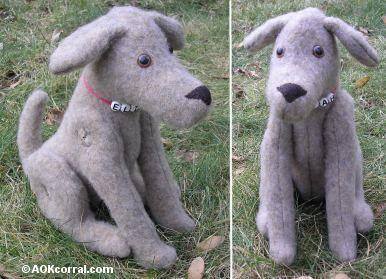 Stuffed Dog Pattern Make A Stuffed Dog And His Dog Coat