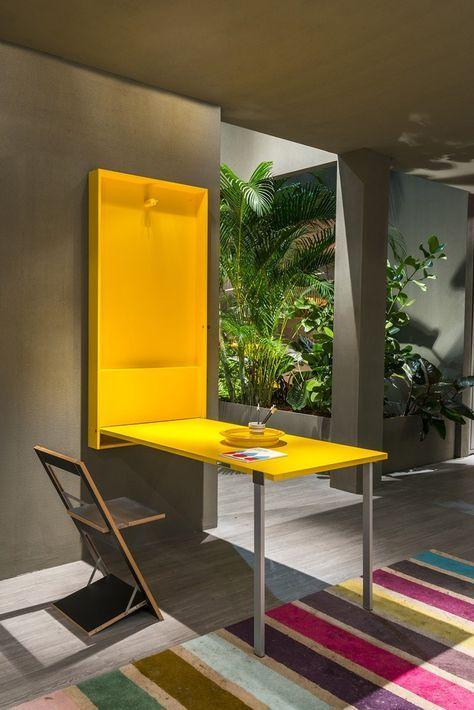Mesa abatible rectangular WALLY by CLEI … | Pinteres…