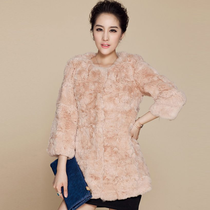Find More Information about 2014 new arrival winter elegant fashion women high grade women's fur medium long rabbit fur coat female,High Quality fur coat women,China fur shearling coats Suppliers, Cheap coated drill from M&X Fashion on Aliexpress.com