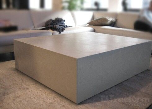 Modern Concrete Coffee Table Concrete Coffee Table Concrete