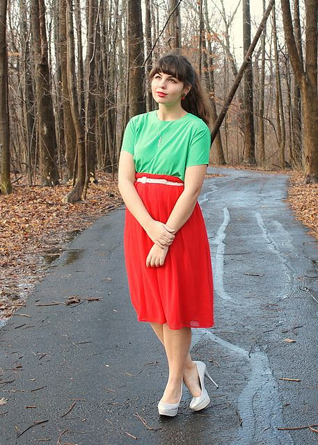 Red and green christmas outfit - Red And Green Christmas Outfit R E D + G R E E N Outfits, Green