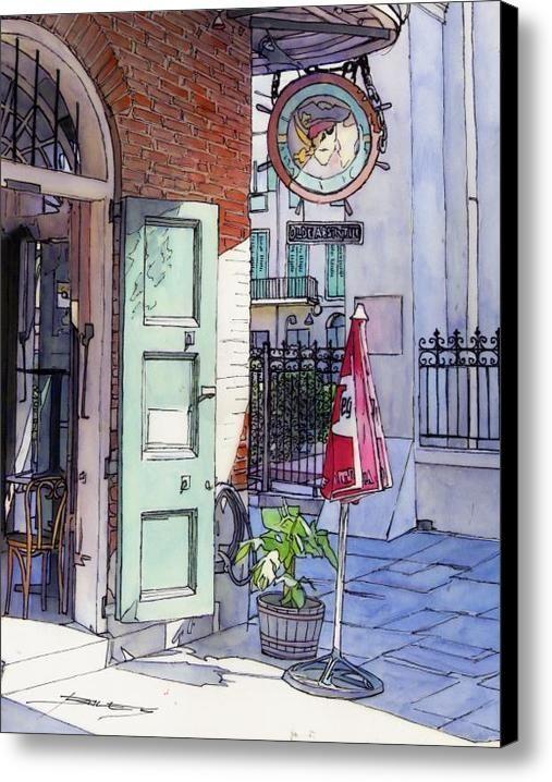 canvas art by john boles is part of Watercolor city - Canvas Art by John Boles Watercolorart City