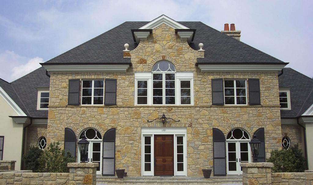 rock exterior homes | Stone Masonry - Natural Stone Home Exterior ...
