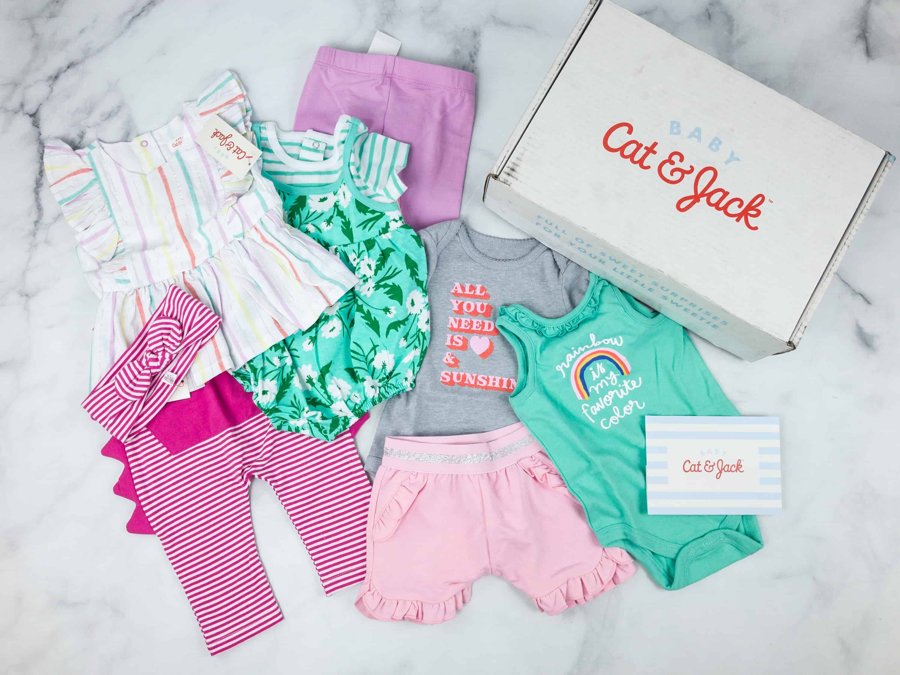 Tar s Cat & Jack Baby Outfit Box Girls Subscription Box Review