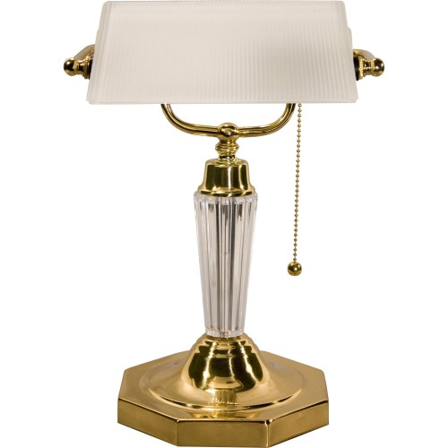 Ledu Executive Banker S Lamp Incandescent Bulb Brass