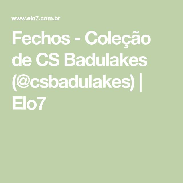Fechos - Coleção de CS Badulakes ( csbadulakes)  10da56deea5