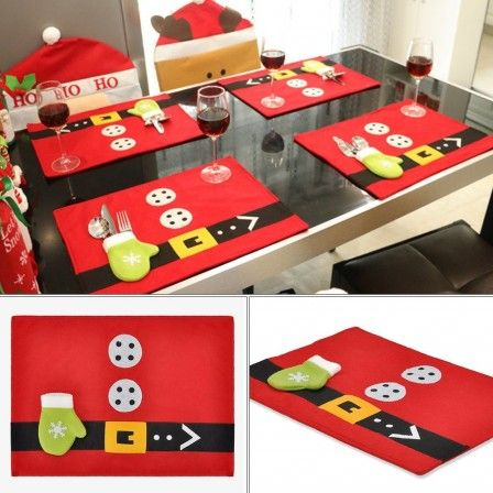 sets de table noel no l loisirs cr atifs et bricolage pour enfants pinterest table noel. Black Bedroom Furniture Sets. Home Design Ideas