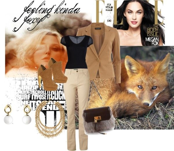 """""""feeling kinda foxy"""" by edengirl-in-oz ❤ liked on Polyvore"""