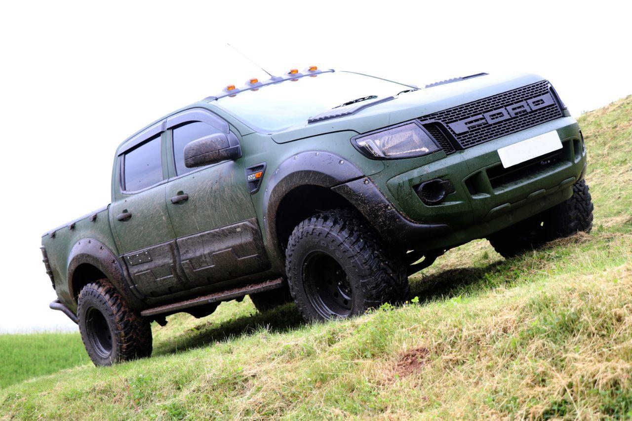 Ford Ranger 2 2 Seeker Raptor Camo Edition With 9k Seeker Styling