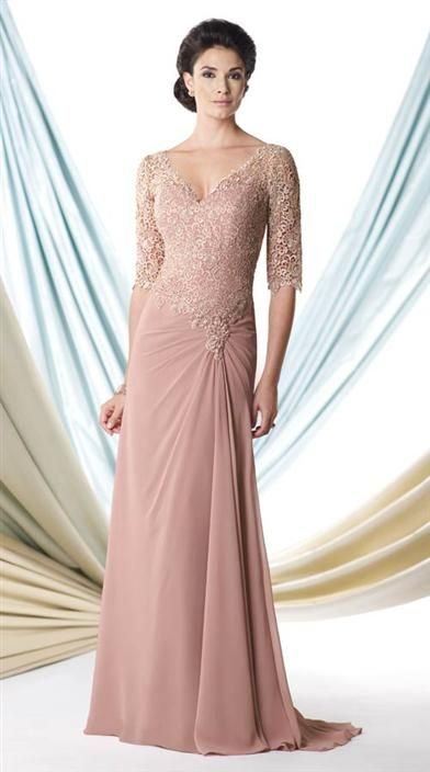 Dusty Rose Gown Glamorous Dresses Dusty Rose Gown Mother Of The Bride Gown