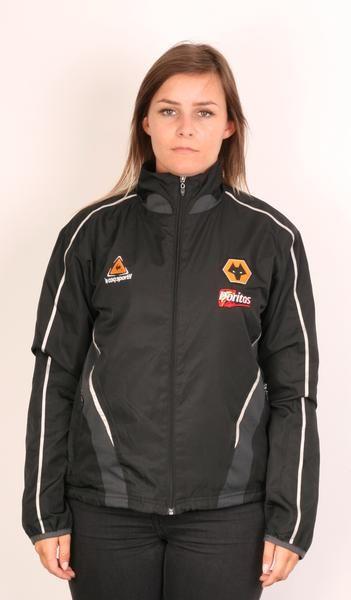 9a42badf Le coq sporttif Wanderers Football Womens Xs Tracksuit Top Full Zipper  Black - RetrospectClothes