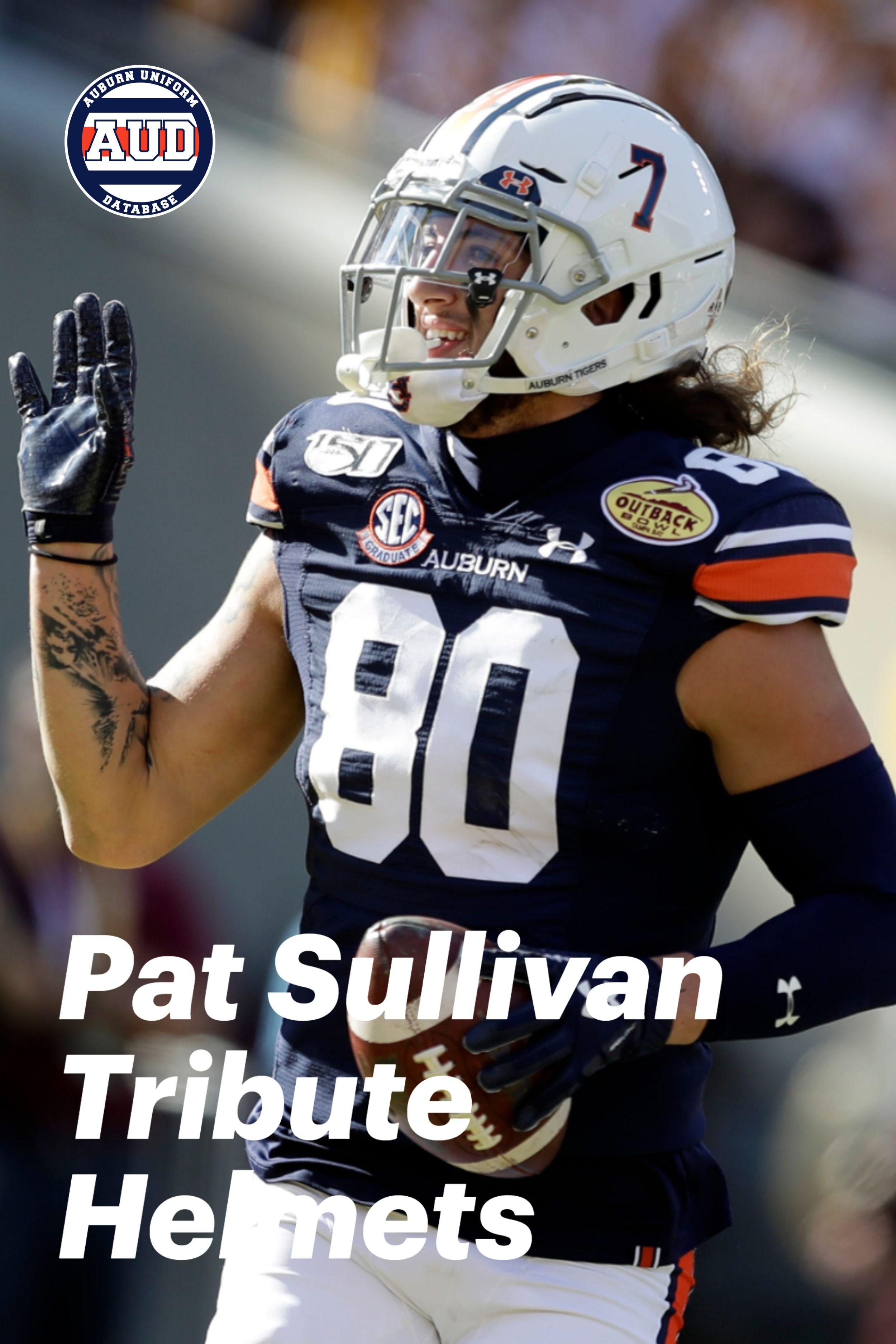 Auburn Honors Pat Sullivan In 2020 Auburn University Football Auburn Football Auburn