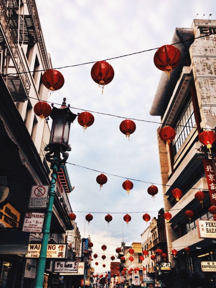 Chinatown San Francisco VSCO Cam