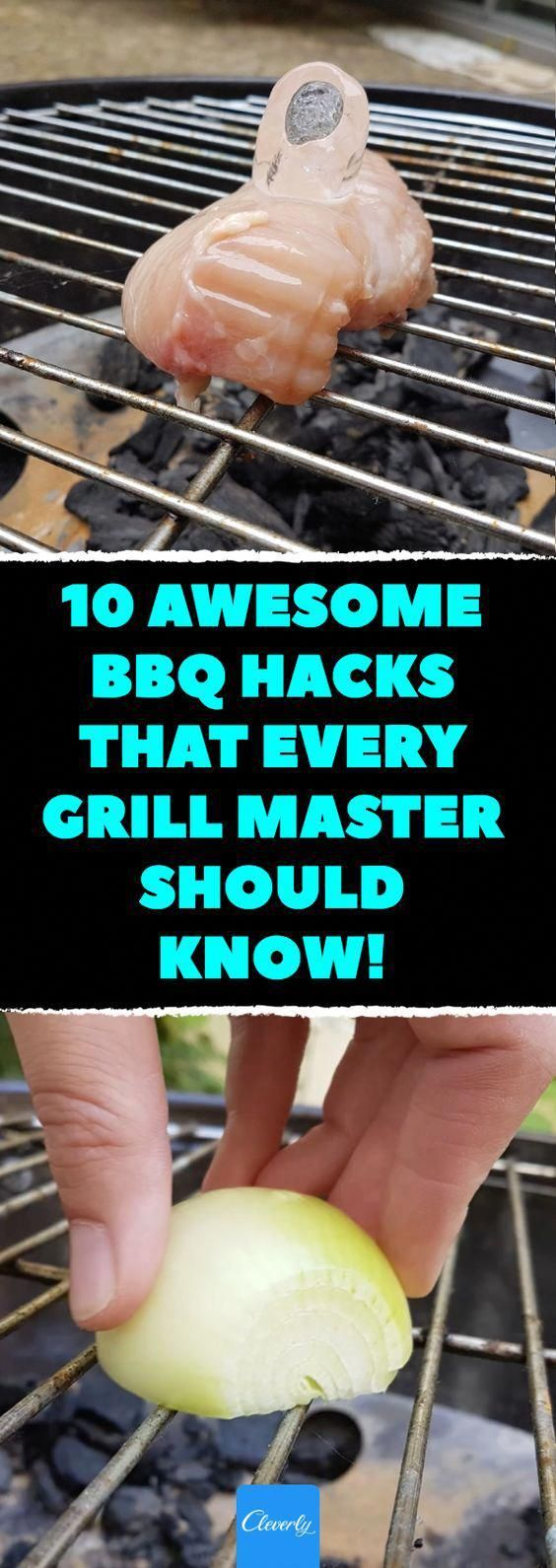 10 awesome BBQ hacks that every grill master should know From cleaning the grill to cooking the meat properly Here are this summers best barbecue tips