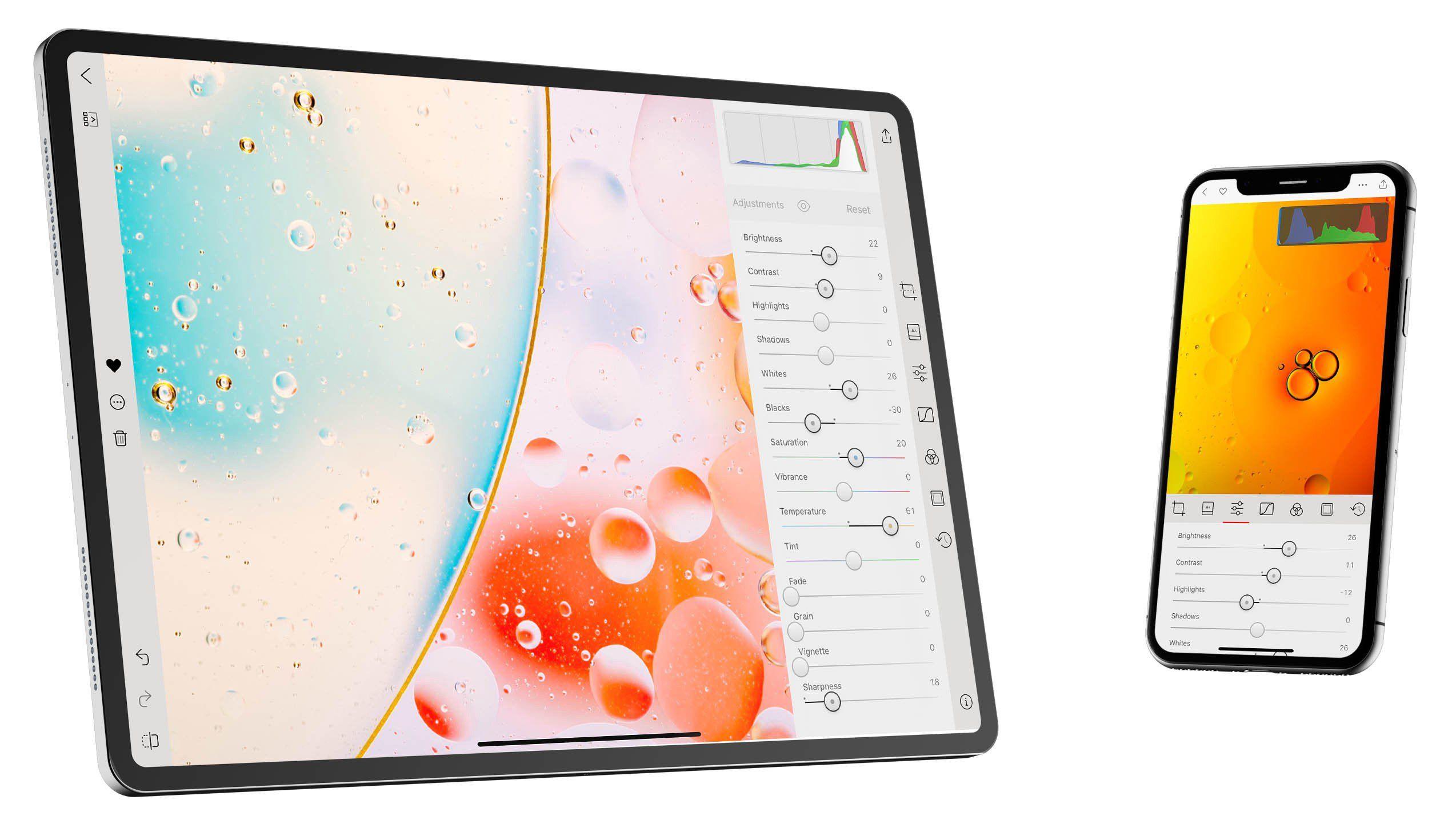 Photo Editor Darkroom Adds Light Mode, More iPad