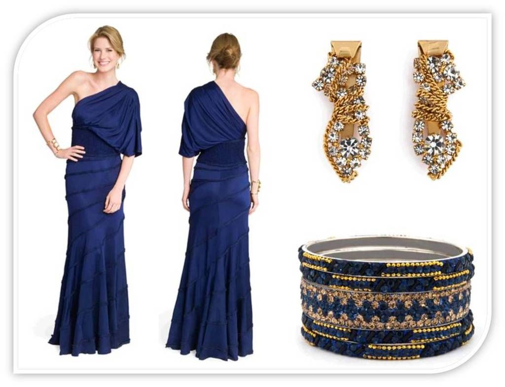 What Color Jewelry Goes With Navy Blue Dresses Dark Blue Dress