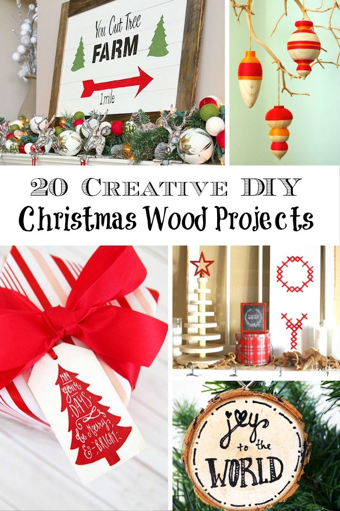 How To Make Gorgeous and Frugal Christmas Wood Projects | Wood ...